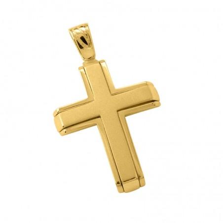 Σταυρός Ανδρικός Σε Χρυσό Κ14 ST005G0665