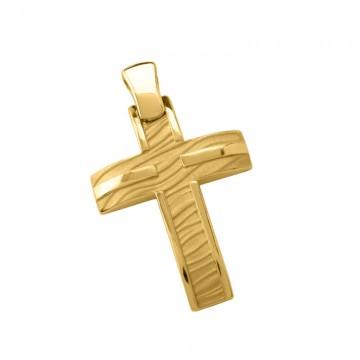 Σταυρός Ανδρικός σε Χρυσό Κ14 ST006G0664