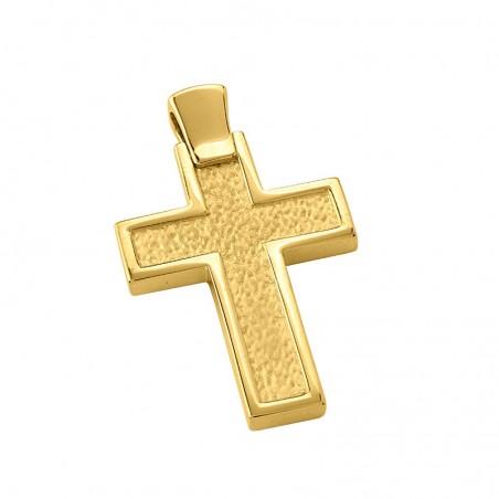 Σταυρός Ανδρικός Σε Χρυσό Κ14 ST0110642