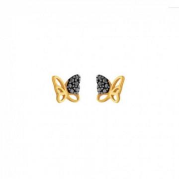 Σκουλαρίκια  Πεταλούδες Από...