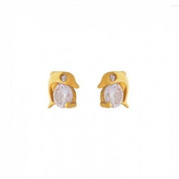 Σκουλαρίκια Σχήμα Δελφίνι...