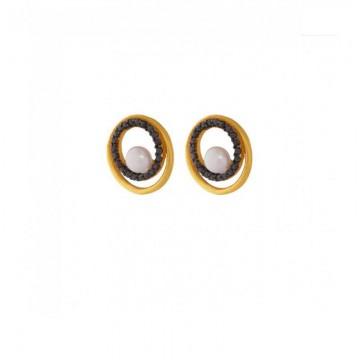 Σκουλαρίκια Κύκλοι Με...