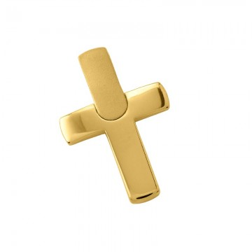 Σταυρός Ανδρικός σε Χρυσό Κ14 ST001G0675
