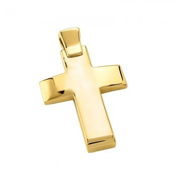 Σταυρός ανδρικός σε χρυσό Κ14 ST023G0633