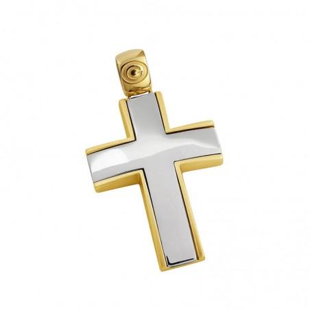 Σταυρός Ανδρικός Σε Χρυσό K14 ST029G0469