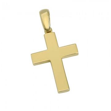 Σταυρός ανδρικός σε χρυσό Κ14 ST034G0473